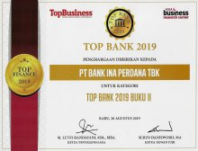 Top Bank 2019 untuk kategori Top Bank 2019 Buku II