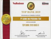 Top Bank 2019 untuk kategori Top Bank 2019 Buku II