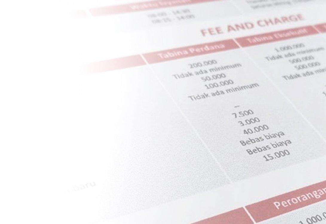 Tarif dan Biaya