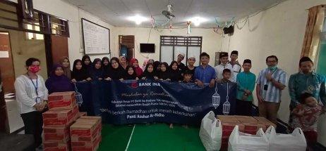 Program CSR PT. Bank Ina Perdana Tbk  Buka Puasa dan Santunan di Panti Asuhan Ar-Ridho