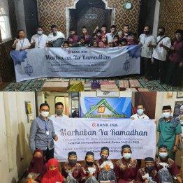 Program CSR PT Bank Ina Perdana Tbk berbagi dalam rangka bulan suci Ramadhan
